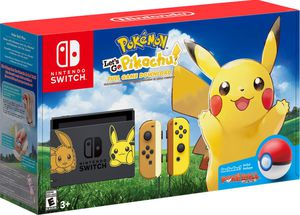 Nintendo Switch Lets Go Pikachu Bundle with pro controller and smash ultimate for Sale in Columbus, OH