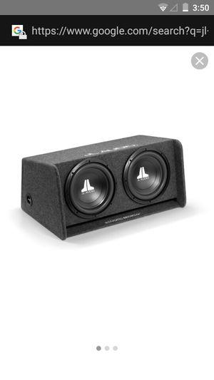 Jl audio sub + aml for Sale in Fresno, CA