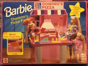 Barbie Dominos pizza party play set. for Sale in Chandler, AZ