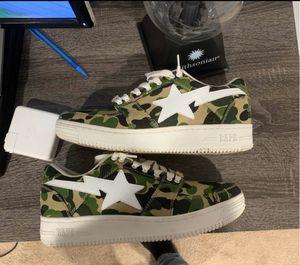 ABC camo Bapstas (Bape shoes) for Sale in Clifton, VA