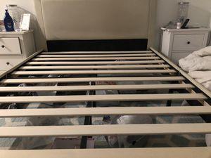 Queen bed frame+headboard for Sale in Fairfax, VA
