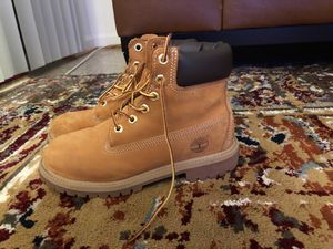 Waterproof timberlands perfect for winter for Sale in Fairfax, VA