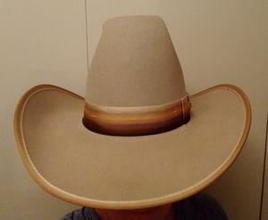Western vintage cowboy cowgirl wool felt hat 6 3/4 for Sale in Chicago, IL