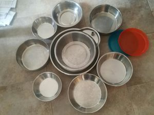 Dog bowls - MAKE AN OFFER for Sale in San Diego, CA