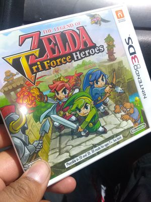 Zelda Tri force heroes new for Sale in Fontana, CA