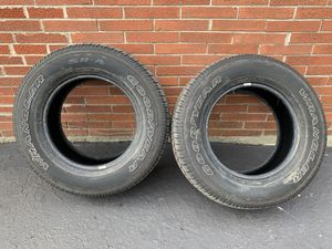 Two Goodyear Wrangler tires, 9-32 left, good condition for Sale in Glenview, IL