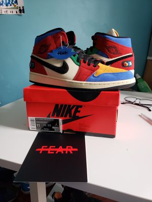 "Jordan 1 Sz 11 ""Fearless"" ""Blue The Great"" for Sale in Bowie, MD"
