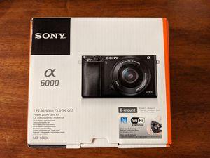 Sony A6000 for Sale in Gilbert, AZ