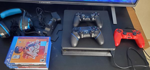 Playstation 4 Slim 1TB with extras.