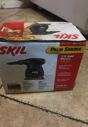 Palm sander skil 1.4 amp 1/4 sheet for Sale in New York, NY