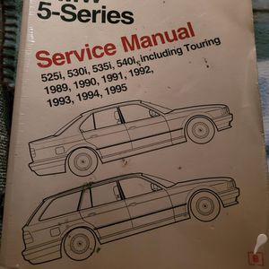 Bently BMW 5-Series Service Manual Bentleys 1989 Through 1995 for Sale in Woodway, WA
