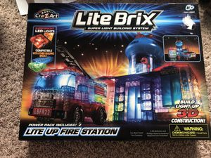 Lite brix fire station for Sale in Rosharon, TX