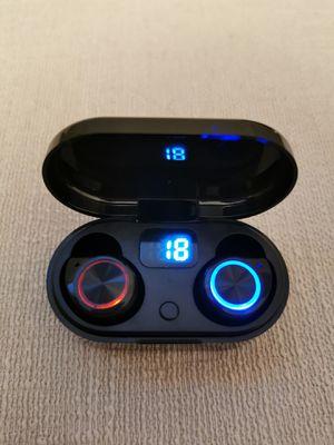 Bluetooth True Wireless Earphone 5.0 Touch Control Earbuds Waterproof Music Headset for Sale in Walnut, CA
