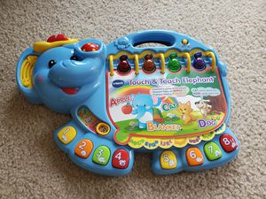Vtech touch n teach abc alphabet toy for Sale in Manchester, CT
