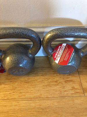 Kettlebell 20 lbs pair for Sale in Miami Shores, FL
