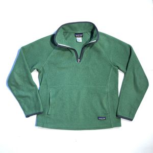 Patagonia Synchilla Fleece Pullover Jacket Quarter Zip Green Womens Size Small for Sale in San Antonio, TX
