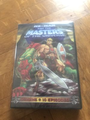 HE-MAN AND THE MASTERS OF THE UNIVERSE DVD NEW SEALED for Sale in CAPE ELIZ, ME