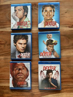 Dexter Season 1-6 Blu-Ray Disc Set for Sale in Damascus, OR