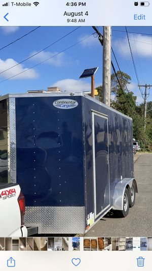 2019 enclosed trailer for Sale in Seattle, WA