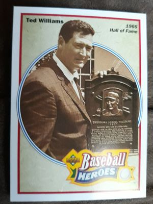 Ted Williams baseball card for Sale in West Valley City, UT