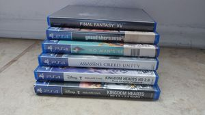 6 ps4 games😳 for Sale in Victorville, CA