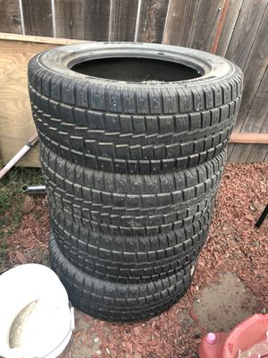 255/55r18 studded tires for Sale in Antioch, CA