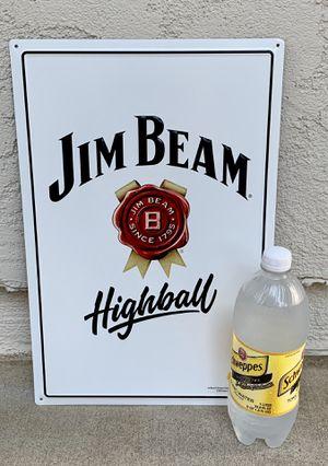 "Jim Beam ""Highball"" metal bar sign for Sale in La Puente, CA"