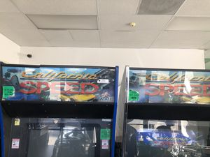 2 California Speed arcade games for Sale in San Bernardino, CA