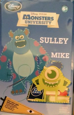NEW DISNEY MONSTER UNIVERSITY CRAFT KIT Mike and Sully and PUZZLE DISNEY INSIDE OUT PUZZLE for Sale in Schaumburg, IL