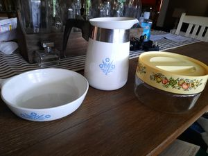 Vintage Corning ware and Pyrex 10.00 each for Sale in Sanford, NC