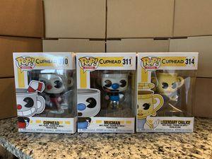 Cuphead Funko Pops for Sale in Orlando, FL
