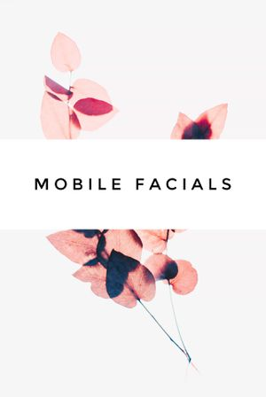 Deep Cleansing Mobile Facials for Sale in Houston, TX
