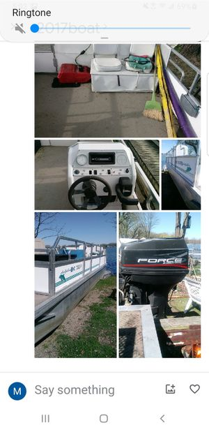 Jcp pontoon 40hrp motor for Sale in Howell, MI