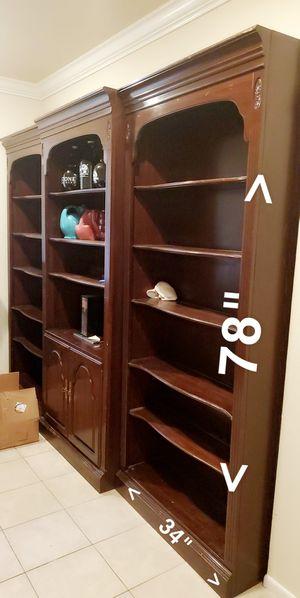 3 piece bookshelves for Sale in Santa Clarita, CA