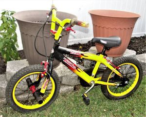"16"" Boy's .. Tonka .. BMX .. Bike .. First Gear. This pre-owned with normal wear. Everything works. Interested I am in Bristol Boro, Pa. 19007 Key f for Sale in Bristol, PA"