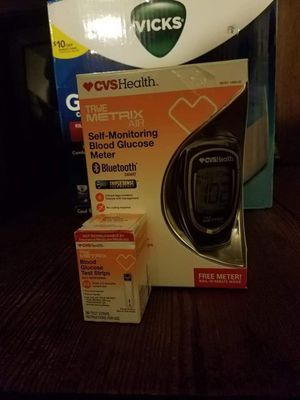 Sugar monitor and extra test strips. for Sale in Coolville, OH