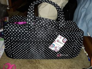"""Creative Options Black & White Rolling E-Tote Trolley holds 12""""x12"""" Cutters for Sale in Spokane Valley, WA"""