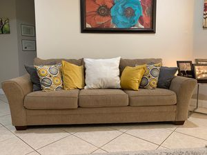 3 piece sofa and loveseat - 3 piece coffee tables for Sale in Miramar, FL