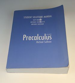 Precalculus Student Solutions Manual for Sale in Beverly Hills,  CA