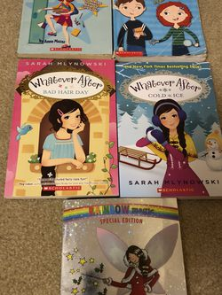 Set Of 5 Pre Teens Books Abby Hayes, Whatever After , Rainbow Fairy for Sale in Smyrna,  TN