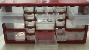 Plastic Storage Box with drawers for Sale in Fort Lauderdale, FL
