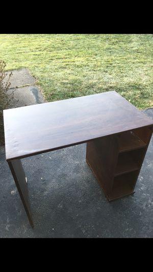 brown desk for Sale in Great Falls, VA