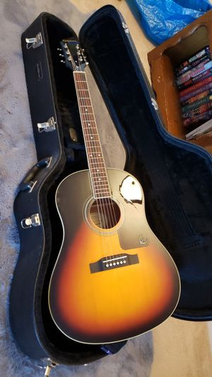 Epiphone Acoustic Guitar and Case for Sale in Hampton, VA