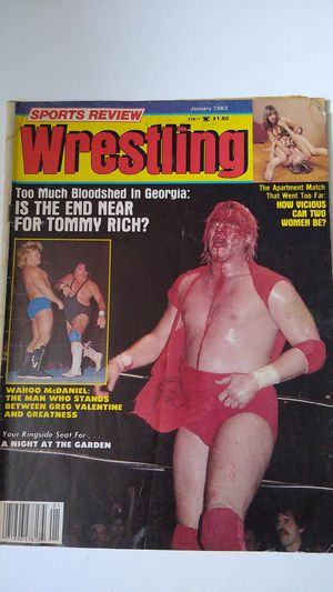 Sports Review Wrestling Magizine 01/1983 for Sale in Wallkill, NY