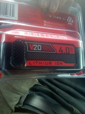 Craftsman battery brand new for Sale in Asheville, NC
