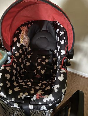 Car seat and compatible snap n go stroller for Sale in Virginia Beach, VA
