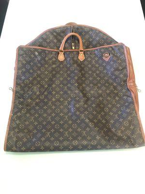 Vintage Louis Vuitton Monogram Leather garment travel bag for Sale in Visalia, CA