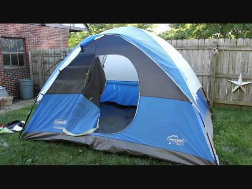 """Coleman River Gorge 6 Person Tent 9"""" by 11"""" GOOD CONDITION"""