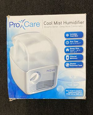 ProCare White Cool Mist Humidifier for Sale in Glendale, CA