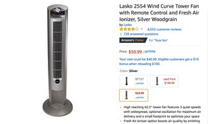 Unopened Lasso Tower Fan for Sale in Los Angeles, CA